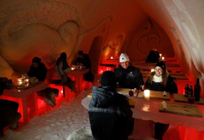 arctic snow hotel_rovaniemi, lapland finland