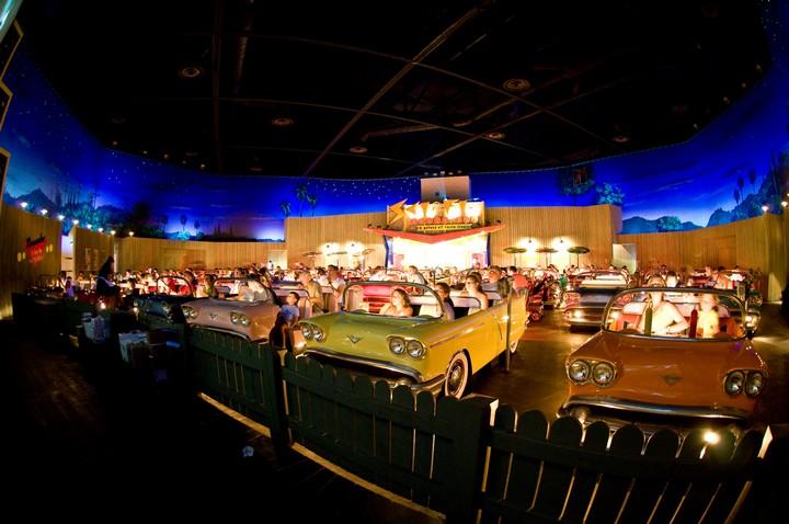 Sci-Fi Dine-In Theater, Disney, US