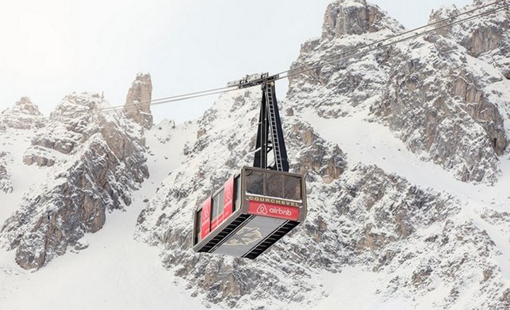 Courchevel Cable car