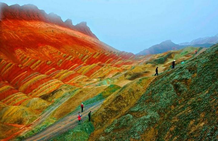 Zhangye Danxia Landform (1)
