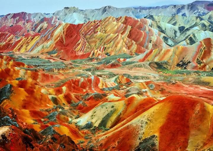 Zhangye Danxia Landform (5)