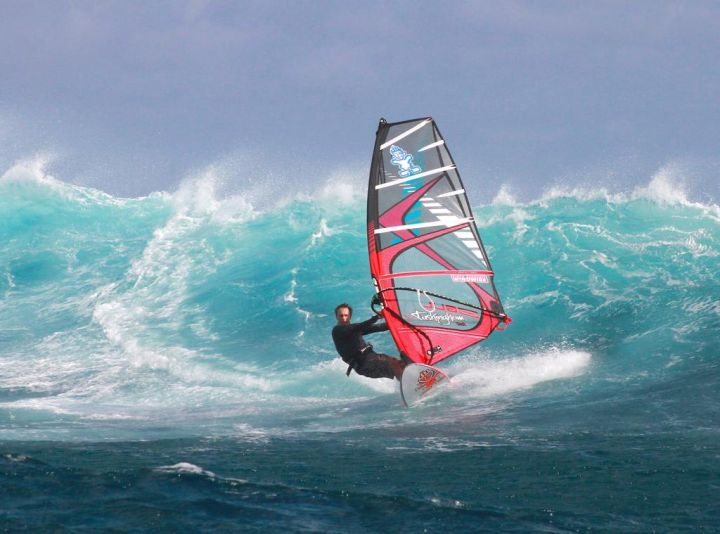 water sport, windsurfing