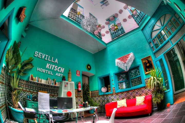 design hostel center Sevilla