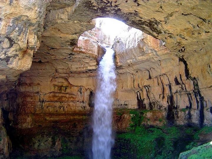 baatara gorge waterfall, lebanon (1)