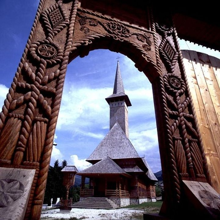 wood church, maramures, romania