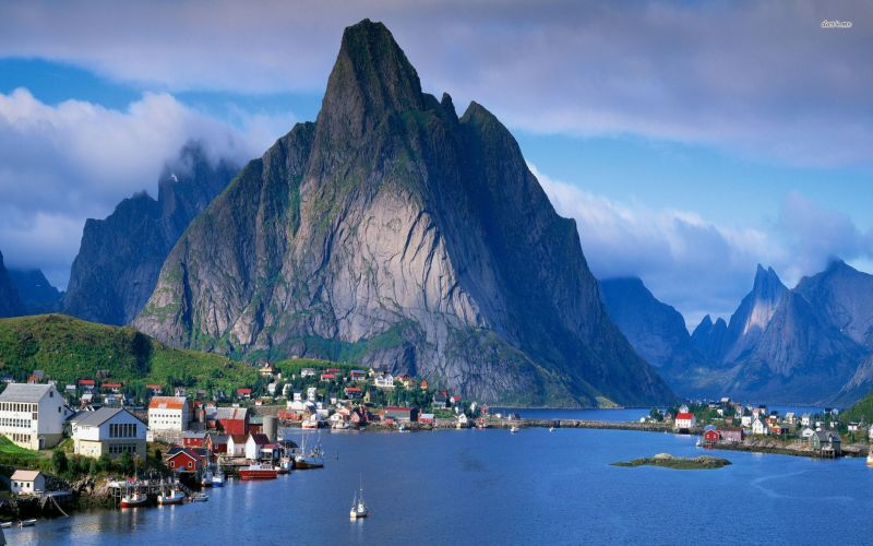 Reine in Lofoten, Norway