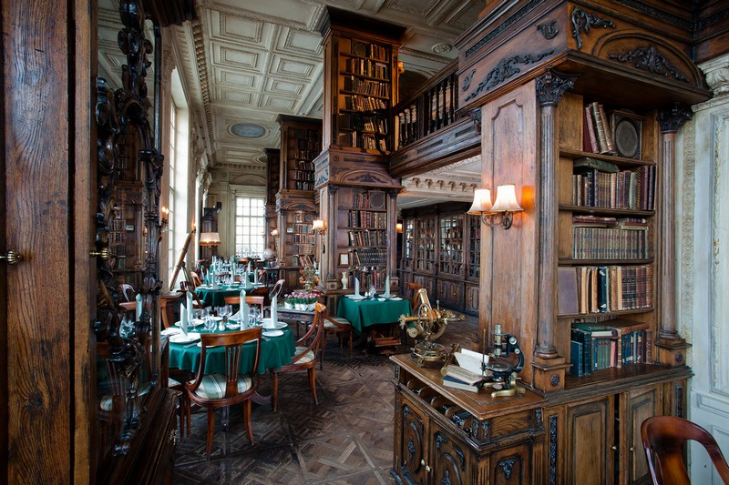 library restaurant, cafe Pushkin (2)