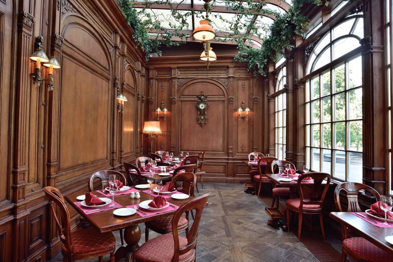 library restaurant, cafe Pushkin