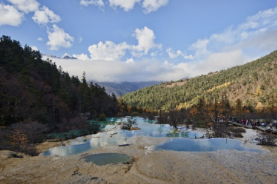 Huanglong Valley, China (11)