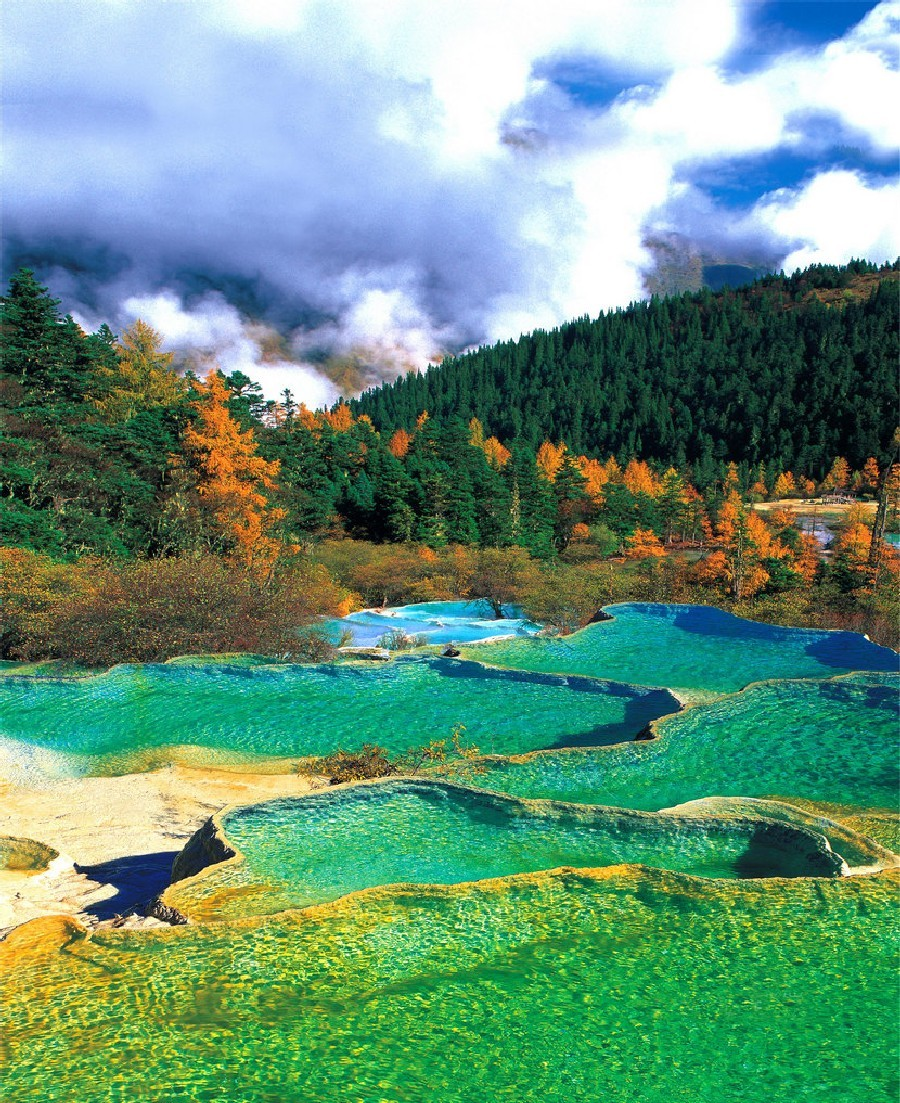 Huanglong Valley, China (14)