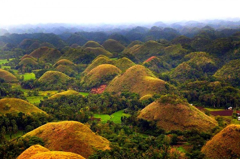 The Chocolate Hills Spotting Legends In The Philippines