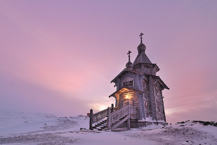 trinity church Antarctica