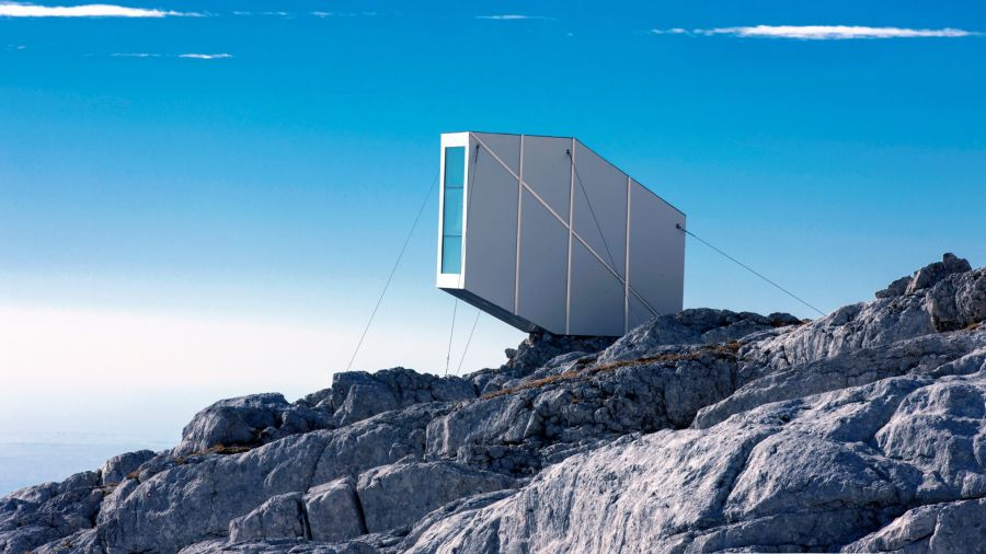 alpine shelter Slovenia