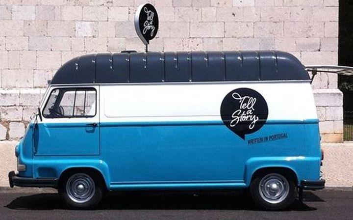 tell a story van