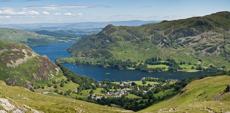 hiking in Ullswater