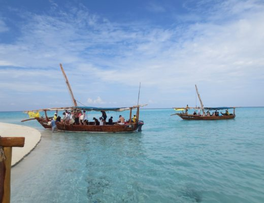 sea boats Tanzania beach
