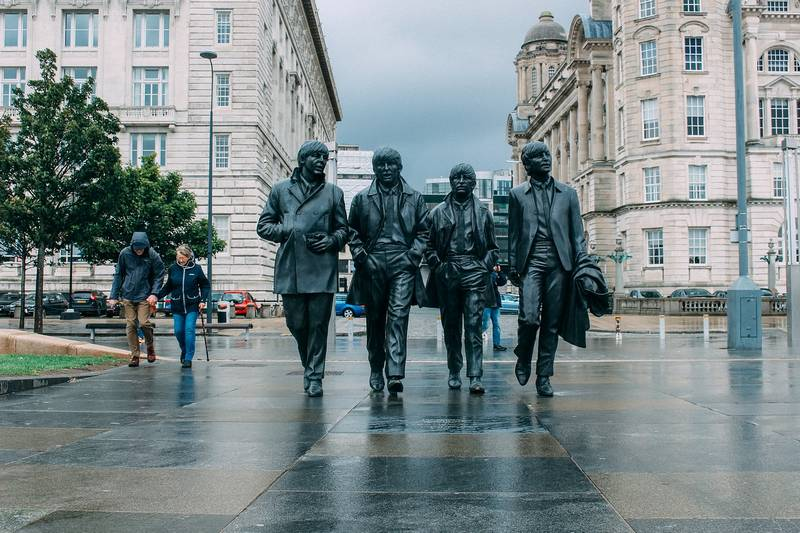 Beatles statue Liverpool