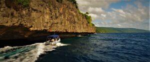 Christmas Island boat