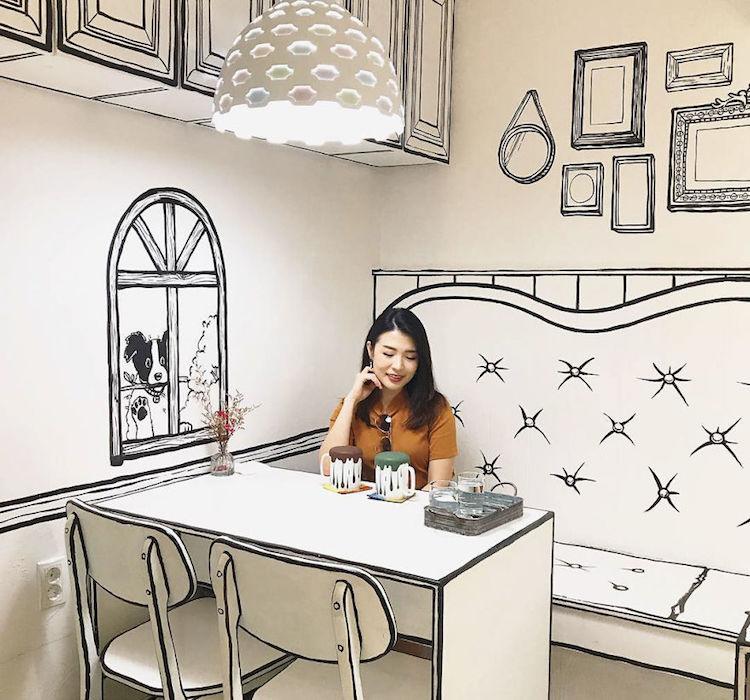 2D cafe Seoul