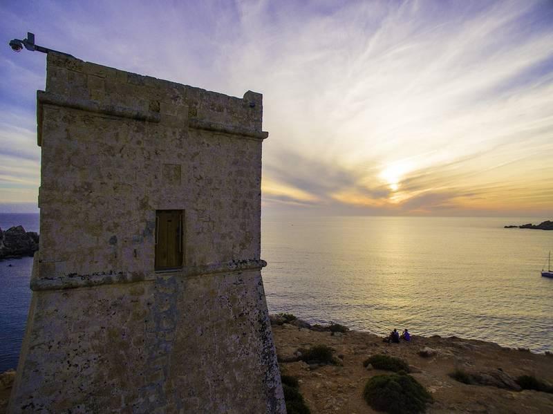 ghajn-tuffieha-malta island
