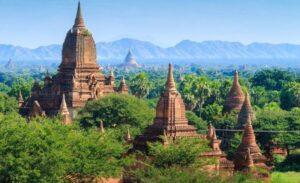 Myanmar pagodas