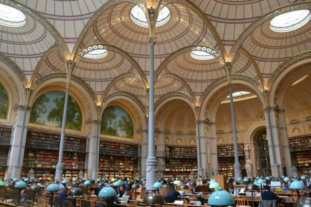 Europe's Most Beautiful Libraries - Labrouste Reading Room