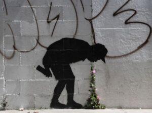 Banksy art work