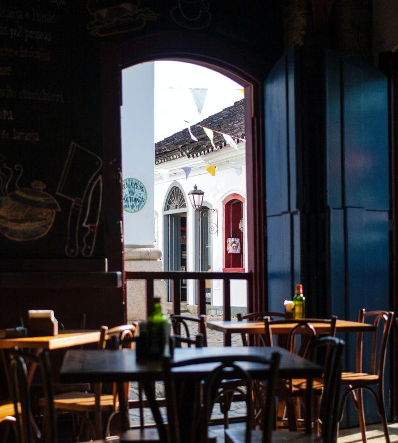 Rio de Janeiro coffee house