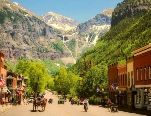 Telluride US slow travel