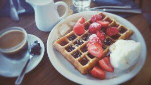 Belgian waffle cream