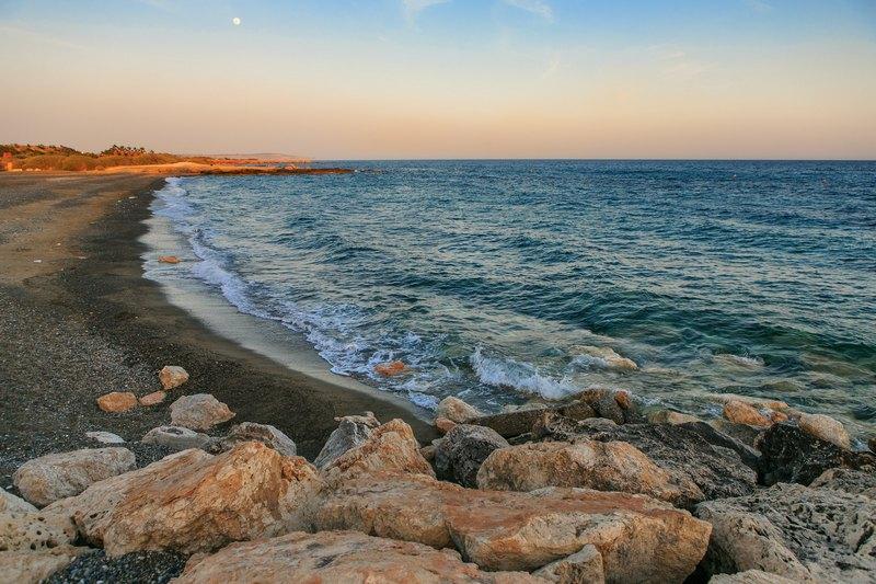 Paramali beach Cyprus