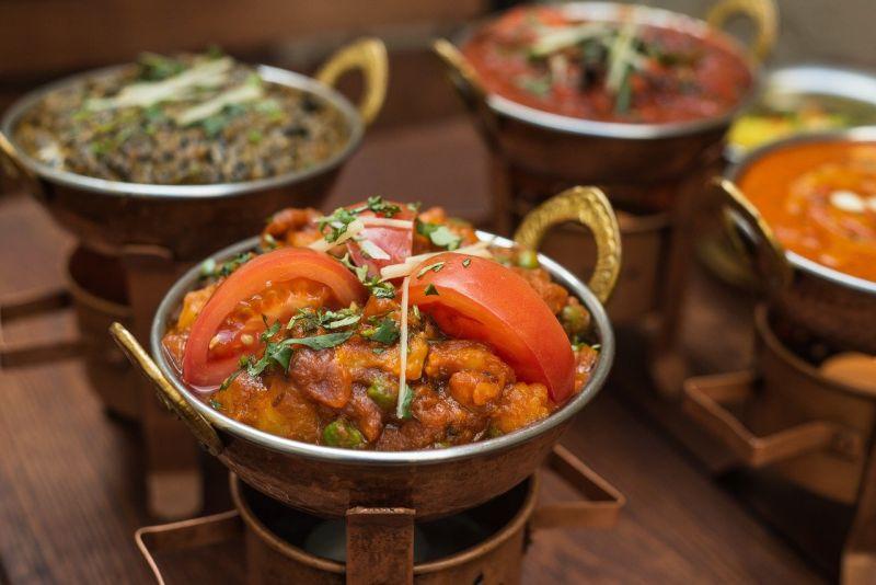 Indian food New Delhi