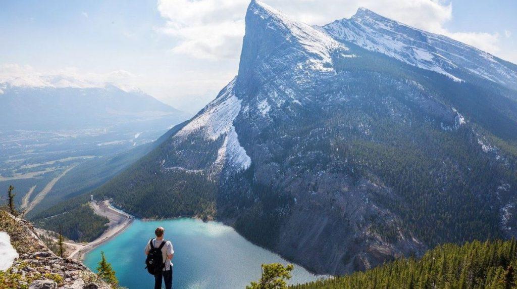 mountains Canadian Rockies hiking beautiful