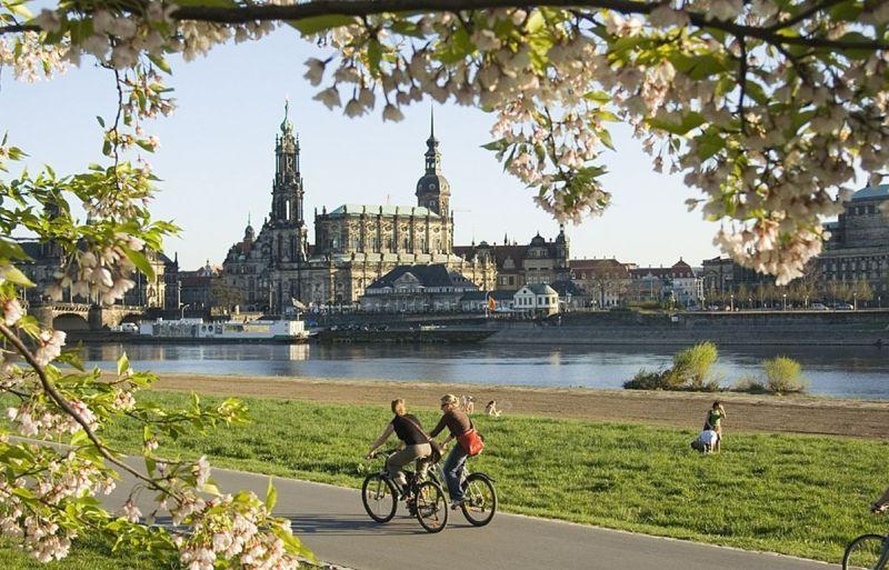 Dresden Germany bikes