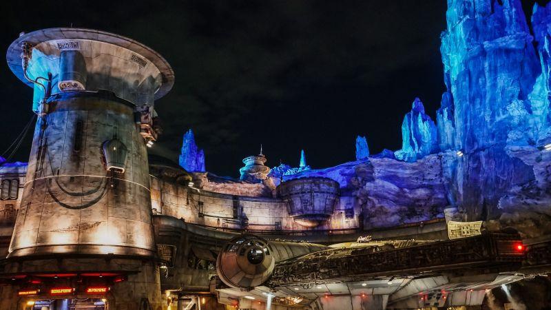 Star Wars land, Disneyland