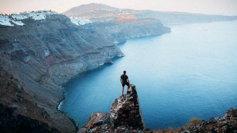Santorini from Ia