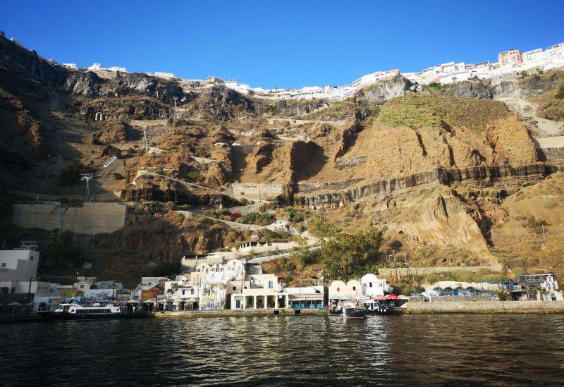 Fira harbour, Santorini
